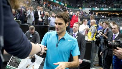 Federer still the man to beat at Melbourne Park