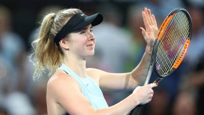 Svitolina beats Pliskova to reach Brisbane final