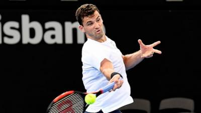 Dimitrov survives Millman scare in Brisbane