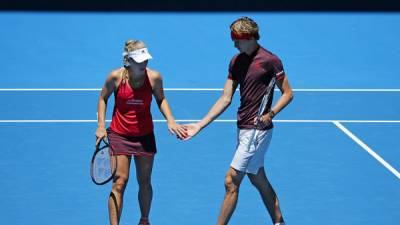 Angelique Kerber inspires Germany in Hopman Cup