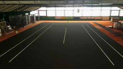 New York Open will be the first event on Tour that uses black court paint