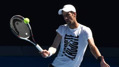 Australian Open: Novak Djokovic makes triumphant return from injury