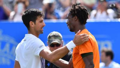 Australian Open: Novak Djokovic staggers past Gael Monfils in draining win