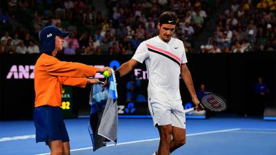 Roger Federer continues Australian Open defence with Richard Gasquet defeat
