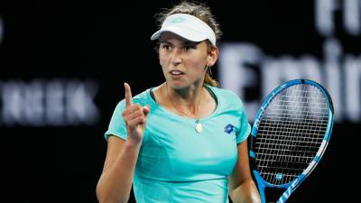 Unseeded Mertens routs Svitolina to reach Aussie Open semis