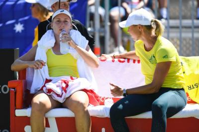 Alicia Molik Would Like to Win Fed Cup For Australia Next Year