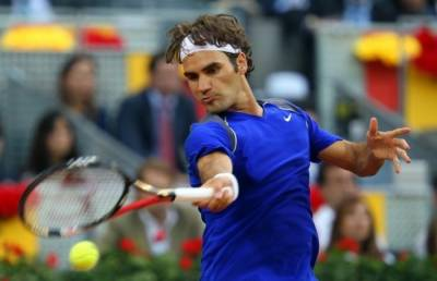 ATP Madrid - Federer survives epic battle with Lopez
