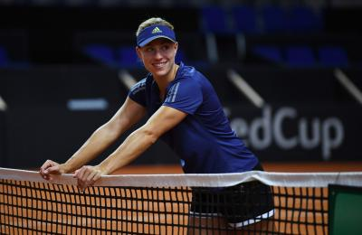 Angelique Kerber Talks About Changes by New Coach Wim Fissette