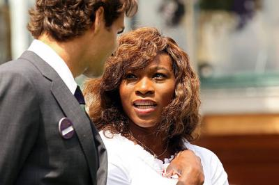 Serena Williams: 'Roger Federer is very close to my 23 Major titles'