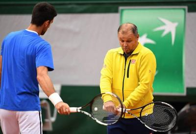 Novak Djokovic: 'Marian Vajda and I love each other'