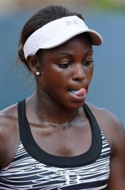 WTA French Open - Sloane Stephens moves into second round of qualifying