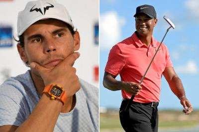 Rafa Nadal and Tiger Woods are a mutual admiration society