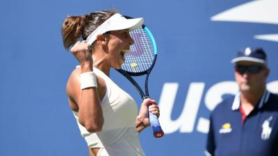US Open: Madison Keys downs Dominika Cibulkova to reach quarters