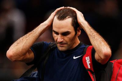 Federer on pressure: Players think they need to reach semis to break even