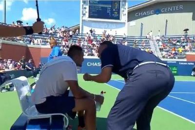 Umpire Mohamed Lahyani suspended for two tournaments!