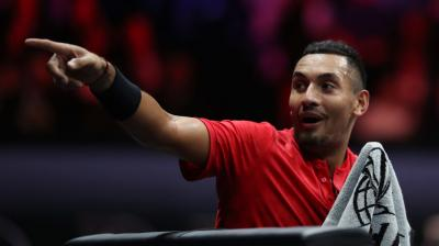 Nick Kyrgios is just so much more enjoyable in a team event like Laver Cup