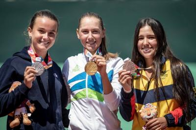 Youth Olympic Games: Kaja Juvan wins two gold medals to write history
