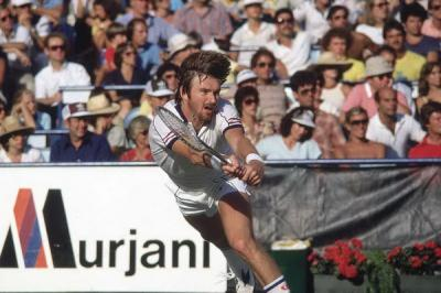 October 17, 1975: 23-year-old Jimmy Connors makes Davis Cup debut