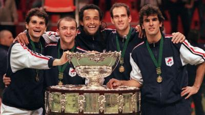 Davis Cup special: 1996, Arnaud Boetsch became the French unlikeliest hero