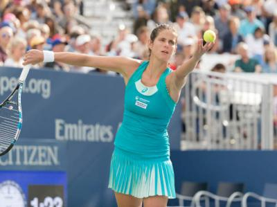 2018 Wta review: Julia Goerges and Ashleigh Barty leads the field on serve
