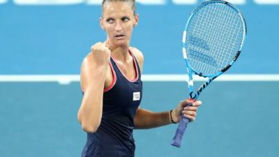 WTA Brisbane: Karolina Pliskova and Lesia Tsurenko will clash for the title