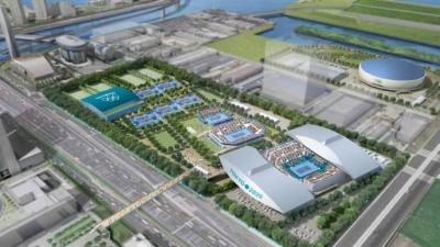 Tennis Venue for Tokyo Olympic Games Faces Delay