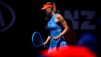 Australian Open: Maria Sharapova ousts Wozniacki in gritty thriller