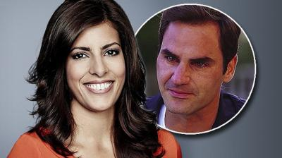 TV journalist comments on having emotional interview with Roger Federer