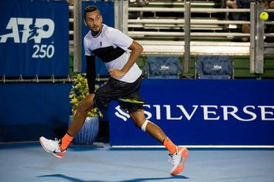 Nick Kyrgios explains the essential element in his win over John Millman