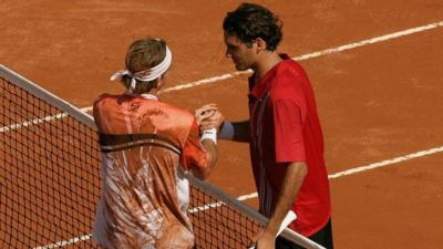 Volandri recalls his win over Roger Federer in Rome: 'I knew I could do it'