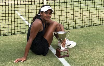 Naiktha Bains: It feels good to win my first $25K Tournament