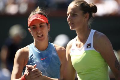 Karolina Pliskova: Conchita wants me to play more aggressive