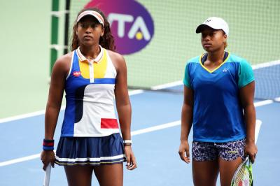 Naomi Osaka's sister Mari may see a change in herself at the Miami Open