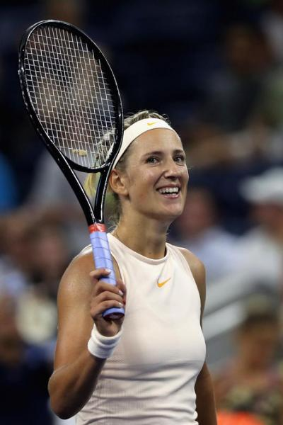 Victoria Azarenka: It's a huge honor for me to cut the ribbon