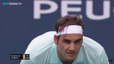 Roger Federer eases past Kevin Anderson to book his semi spot in Miami