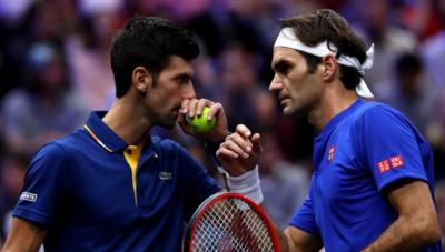 Novak Djokovic: 'Roger Federer and Rafael Nadal are my biggest rivals'