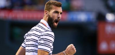The Flair of Benoit Paire hits Barcelona wins first round over Londero