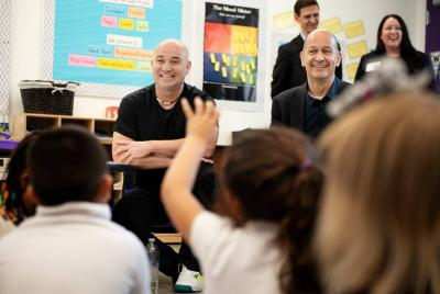Andre Agassi Teams Up with Bobby Turner to Inaugurate School in Modesto