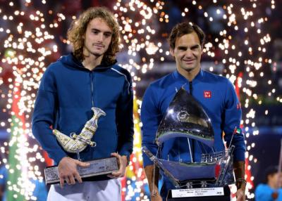 Facing Roger Federer is not that difficult, says Stefanos Tsitsipas