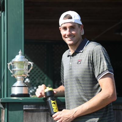 John Isner becomes first tennis player to Ink CBD Deal