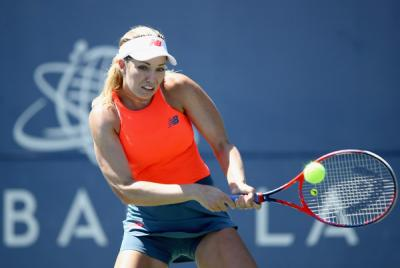 Danielle Collins digs out a win on first round in San Jose thriller