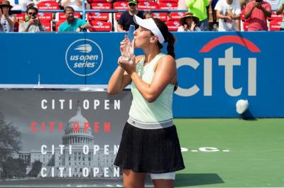 Jessica Pegula is spot on with capturing maiden WTA title at Citi Open