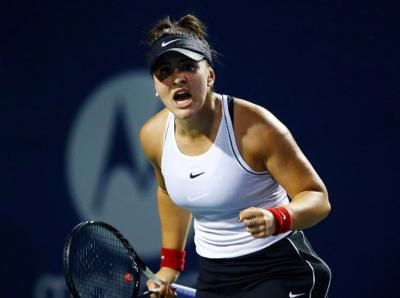Bianca Andreescu makes stylish comeback in starting rounds in Toronto