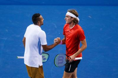 The Kyrgios-Tsitsipas bromance/rivalry will continue at the Laver Cup