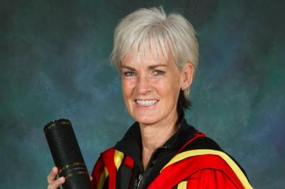 Judy Murray Gets Honorary Degree from Glasgow University