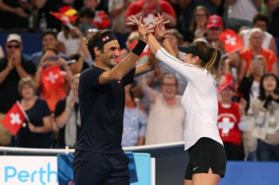 Belinda Bencic ready to play exho with Roger Federer, Medvedev in Moscow