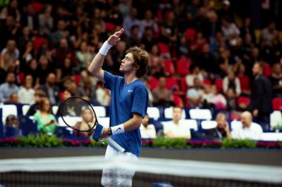 ATP Moscow: Andrey Rublev downs Marin Cilic to set Adrian Mannarino clash