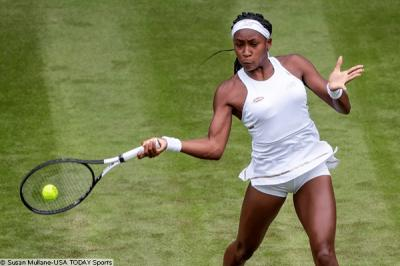 Wimbledon star Coco Gauff spends Thanksgiving training with father