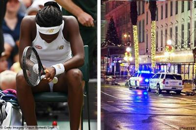 Coco Gauff reacts to 10-victim shooting spree in hometown New Orleans
