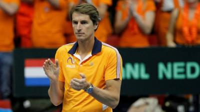 Paul Haarhuis Disappointed at Not Playing Kazakhs at Home Next March